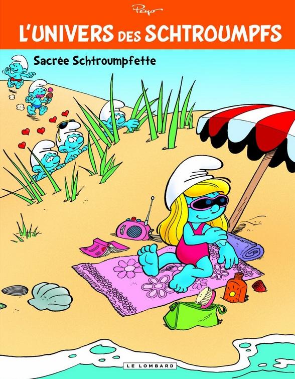 L'univers des Schtroumpfs tome 3 : Sacrée Schtroumpfette Sacr-e-3d520fa