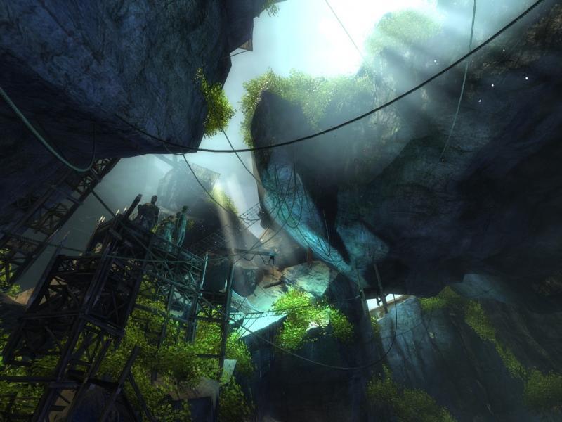 fractale des ruines aquatiques