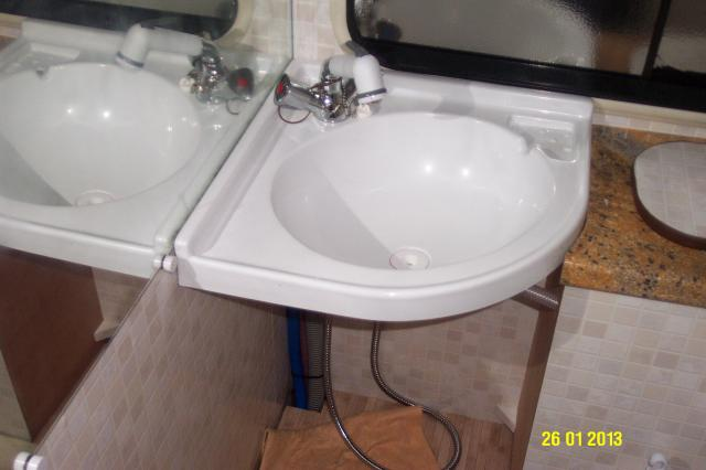 Lavabo Angle Camping Car.C25 J5 Ducato Et Derives Challenger 450