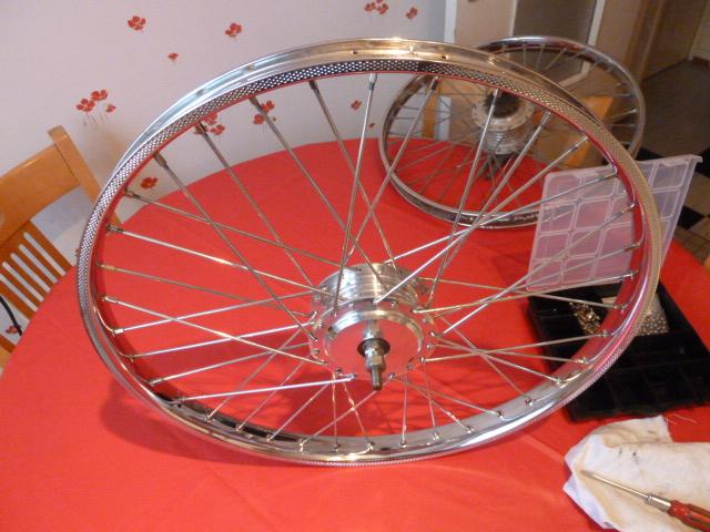 rayonnage roue de solex
