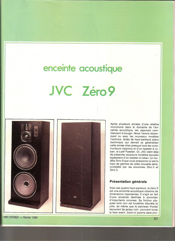forum cabasse hifi vintage et home cin ma enceinte jvc zero9. Black Bedroom Furniture Sets. Home Design Ideas