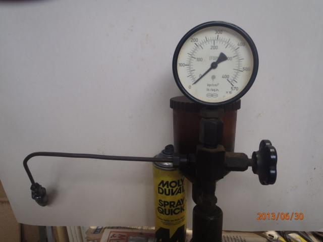 fuite d'huile à une tete d'injection GV S2 1993 P6300003-3f4b1d4