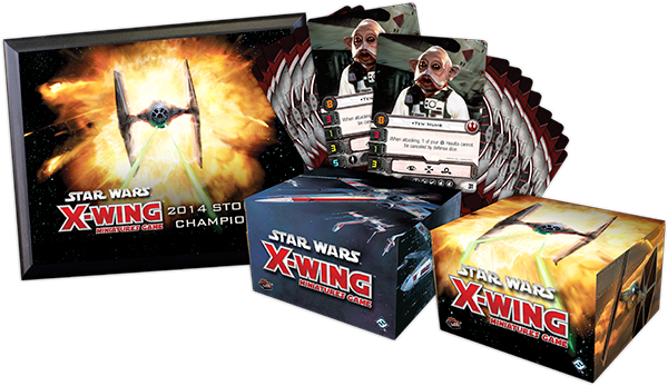 Lots officiels X-wing
