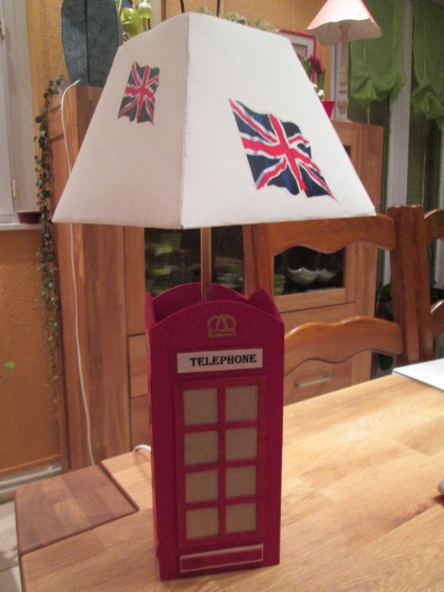 Croisee creative lampe cabine t l phonique london - Lampe cabine telephonique anglaise ...