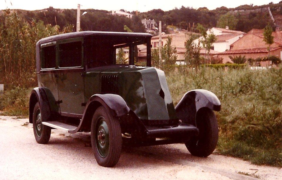 Les renault d 39 avant guerre ry 317061 conduite interieure for Garage htm marignane