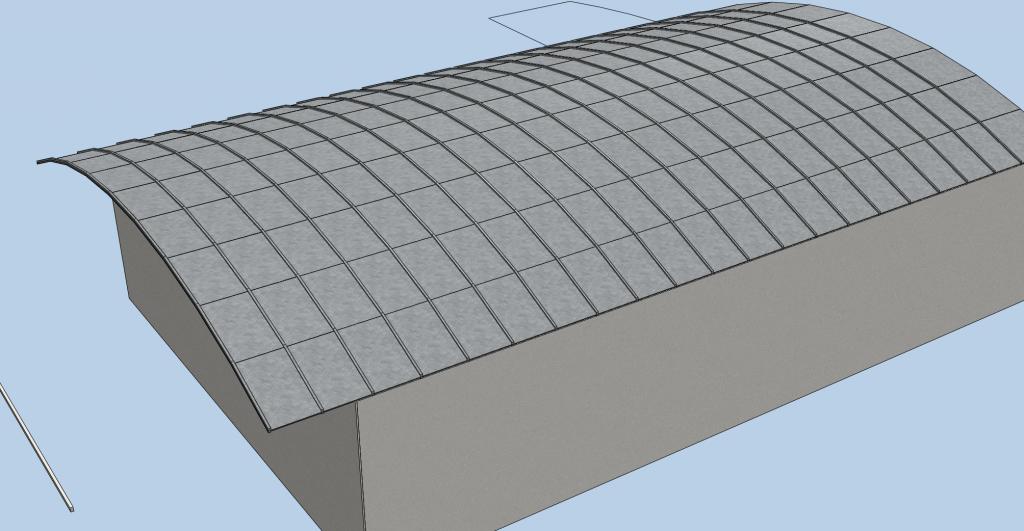 allplan forum r aliser un toit en berceau avec aspect zinc. Black Bedroom Furniture Sets. Home Design Ideas