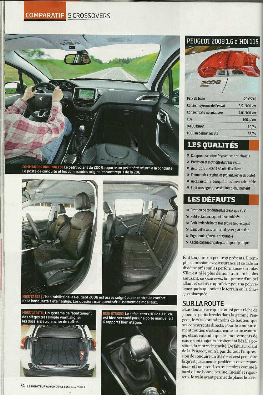 passion suv comparatif peugeot 2008 et renault captur face au juke mokka et yeti. Black Bedroom Furniture Sets. Home Design Ideas