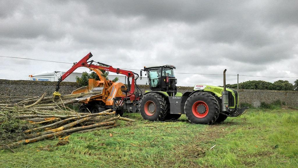 Technique tp travaux forestiers labour broyage plantation etc - Broyeuse a bois ...