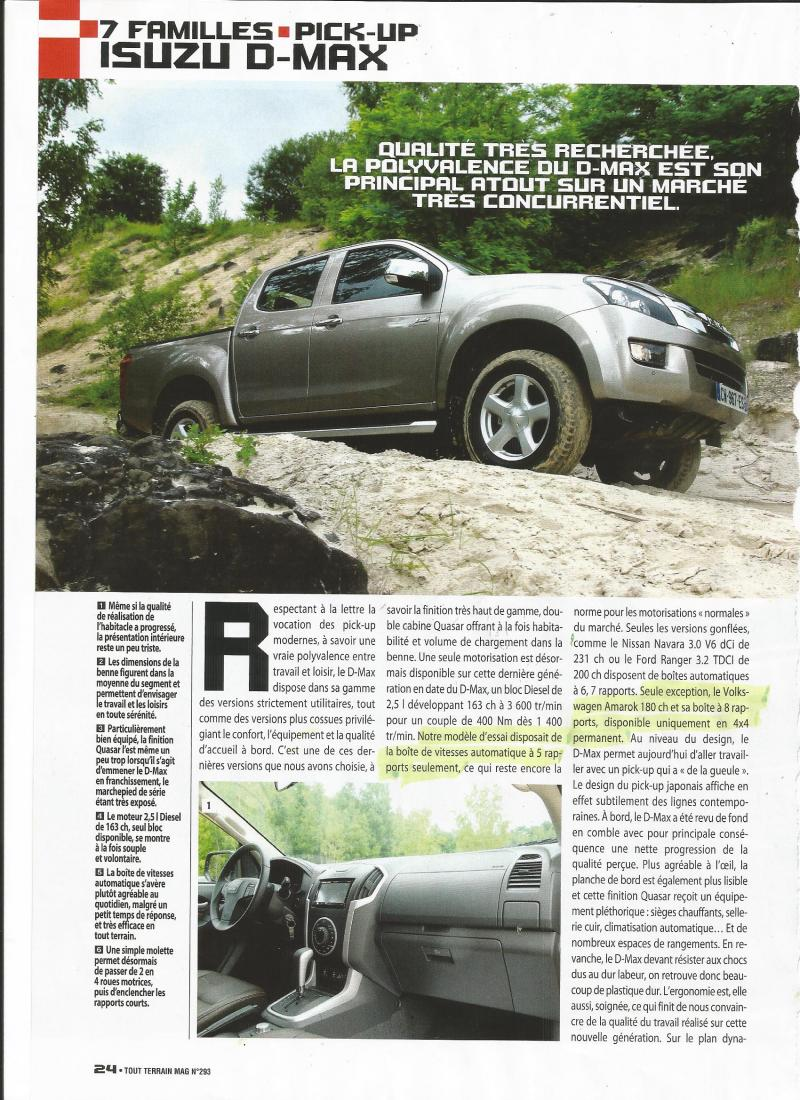 passion suv essai d max quasar 4x4 crew bva tout terrain magazine de f vier mars 2014. Black Bedroom Furniture Sets. Home Design Ideas