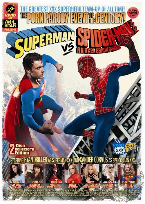 Comics Marvel VF :: superman vs spider-man xxx
