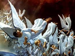 photo ange gardien agé