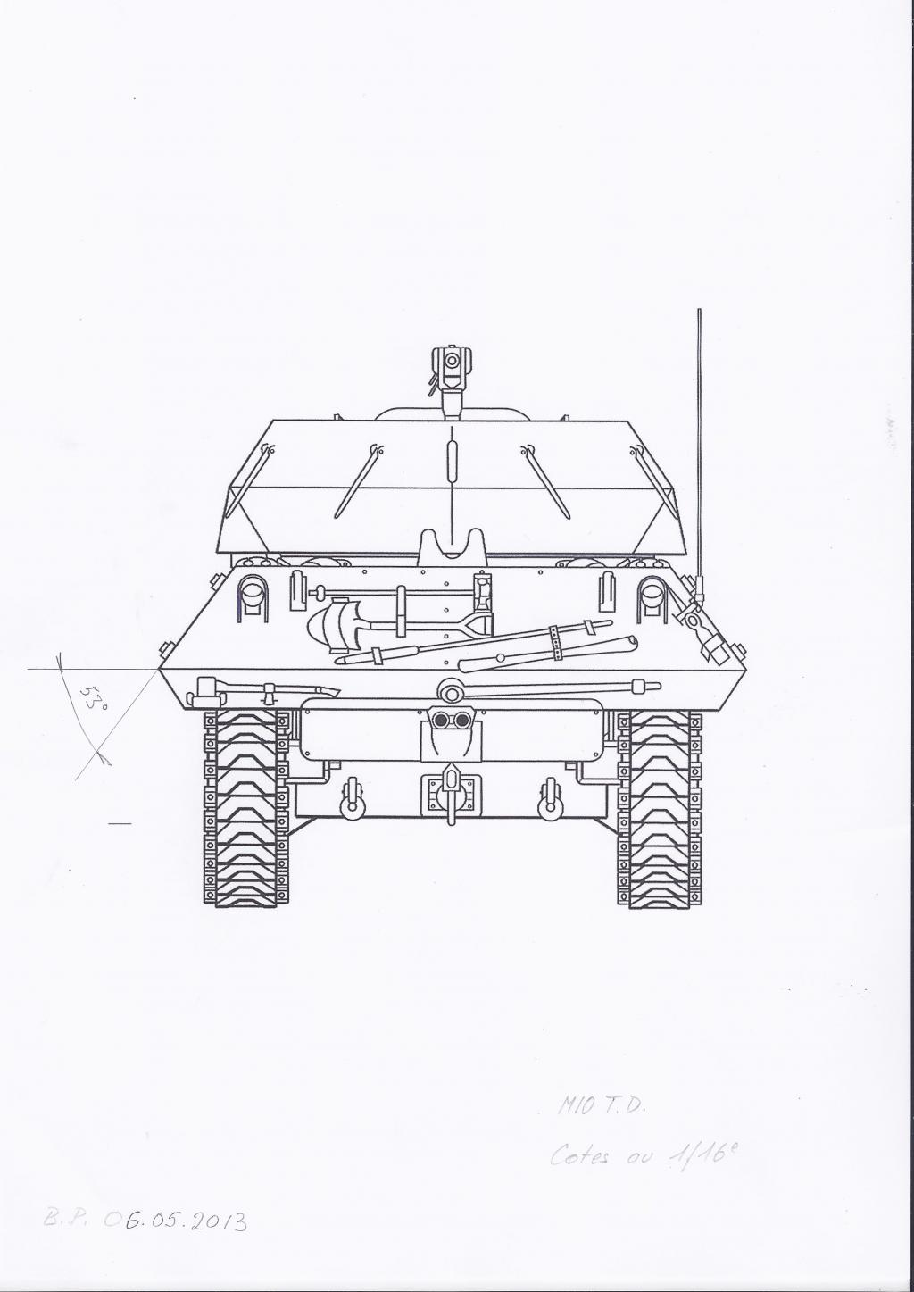 3-inch Gun Motor Carriage M 10 Tank Destroyer M10-t.d.-d-3dfaa89
