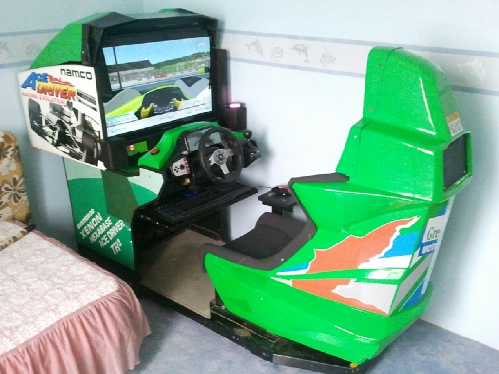 Pcshm playseats cockpits et simulateurs home made - Simulateur jardin ...