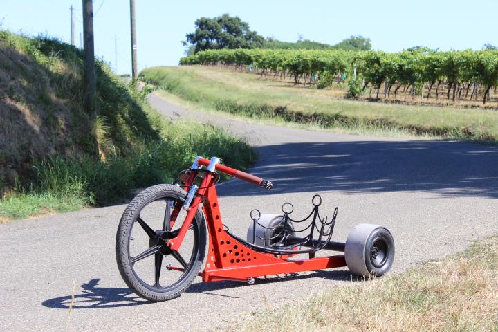 Как сделать велосипед дрифт трайк