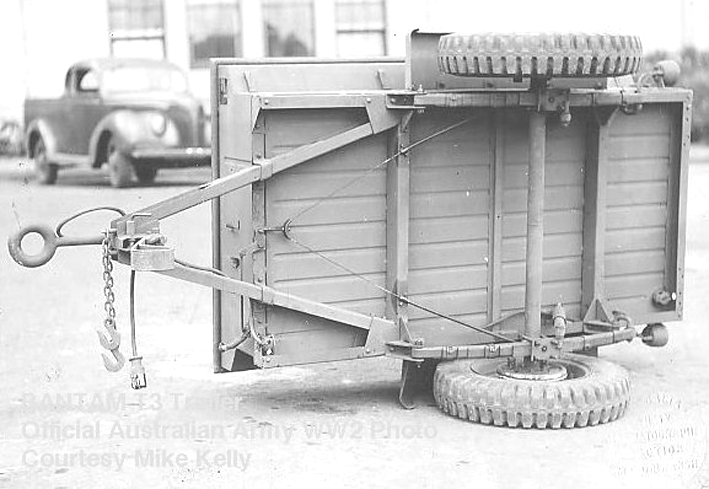 Jeep Danbury 1 16e Motoris 233 E Sumo Remorque Bantam 1 4 T