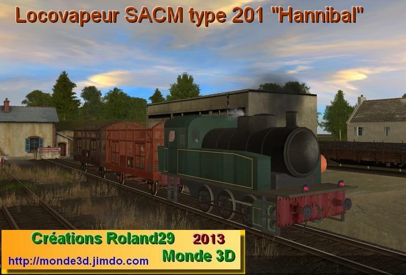 Trainz Orient Express :: Locovapeur SACM