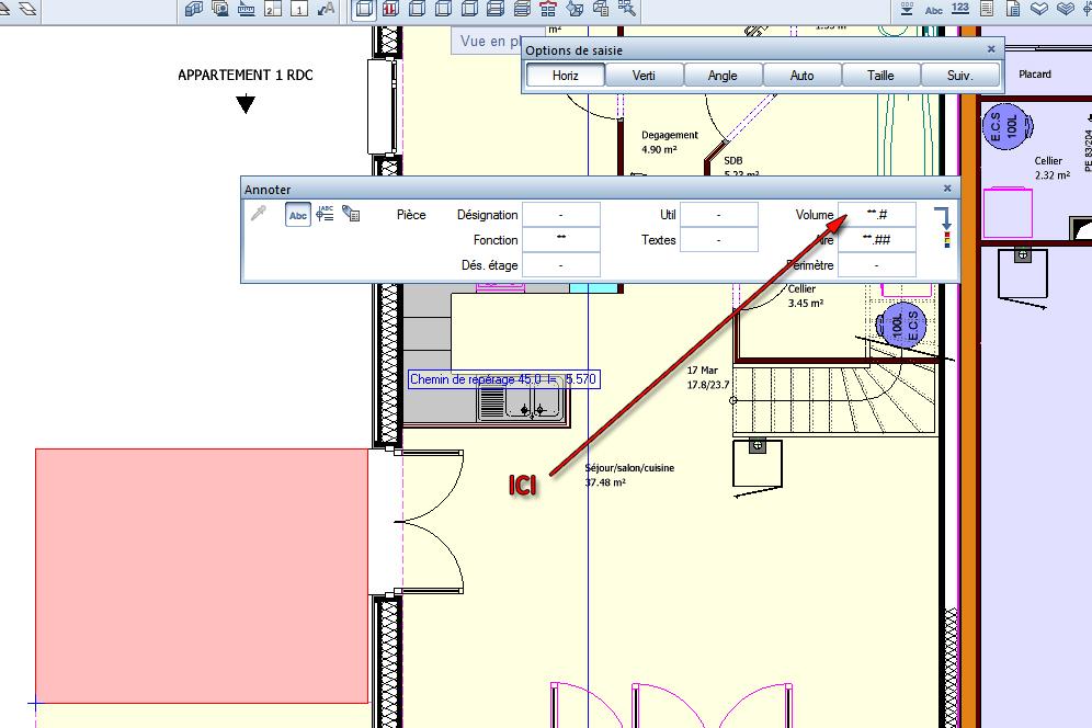 Allplan forum calcul du volume d 39 une pi ce for Calcul chauffage d une piece