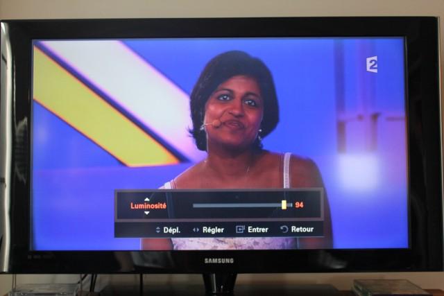 television ecran noir