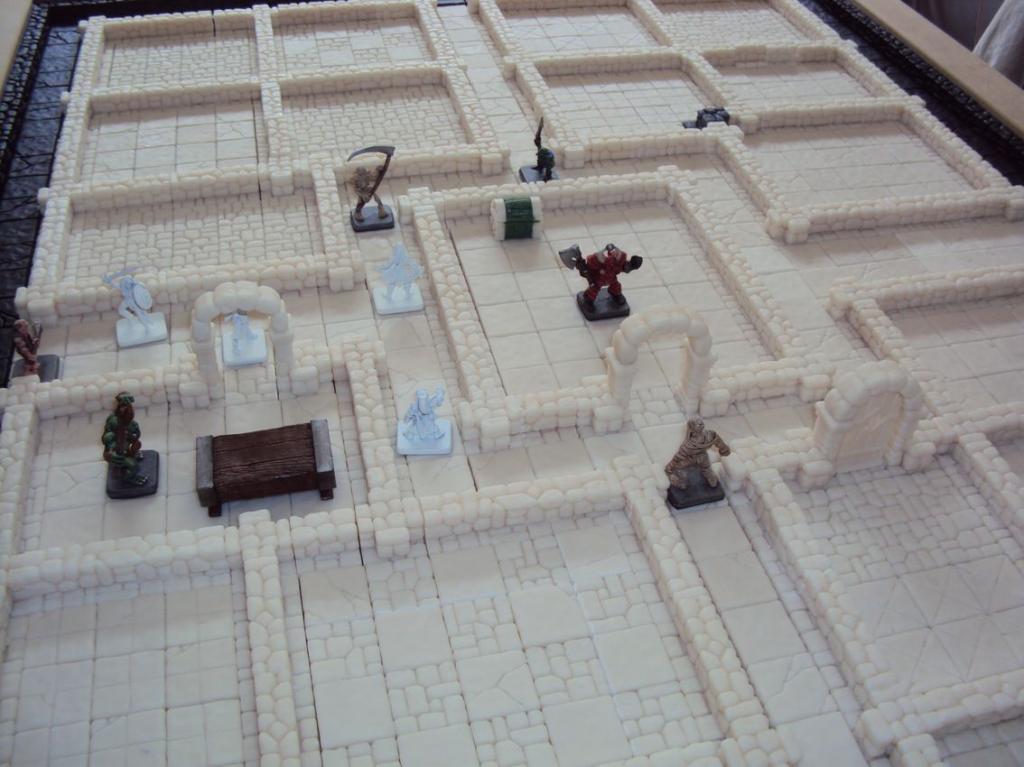 heroquest remaster :: Plateau de jeu 3D modulable en résine