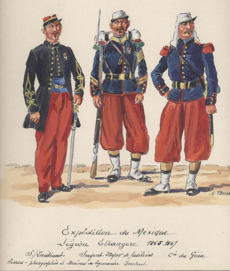 "l heure de la legende ""Legio Patria Nostra Mexique 1863 "" 20-41da4e3"