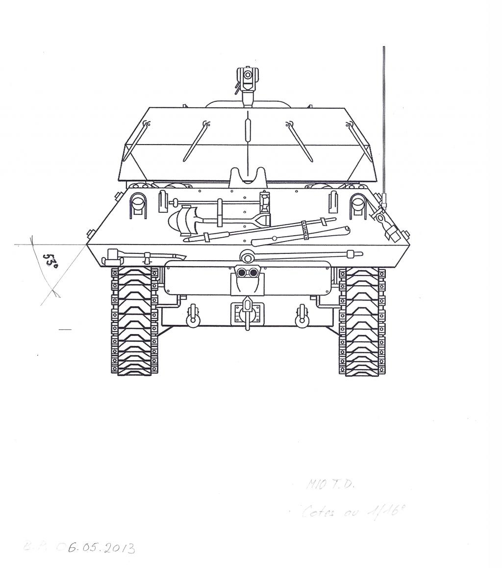 3-inch Gun Motor Carriage M 10 Tank Destroyer M10-t.d.-dd-3dfde2f