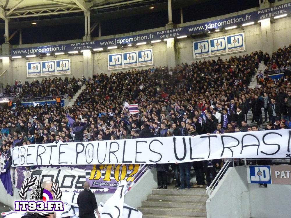 toulouse fc ultras tifo forum. Black Bedroom Furniture Sets. Home Design Ideas