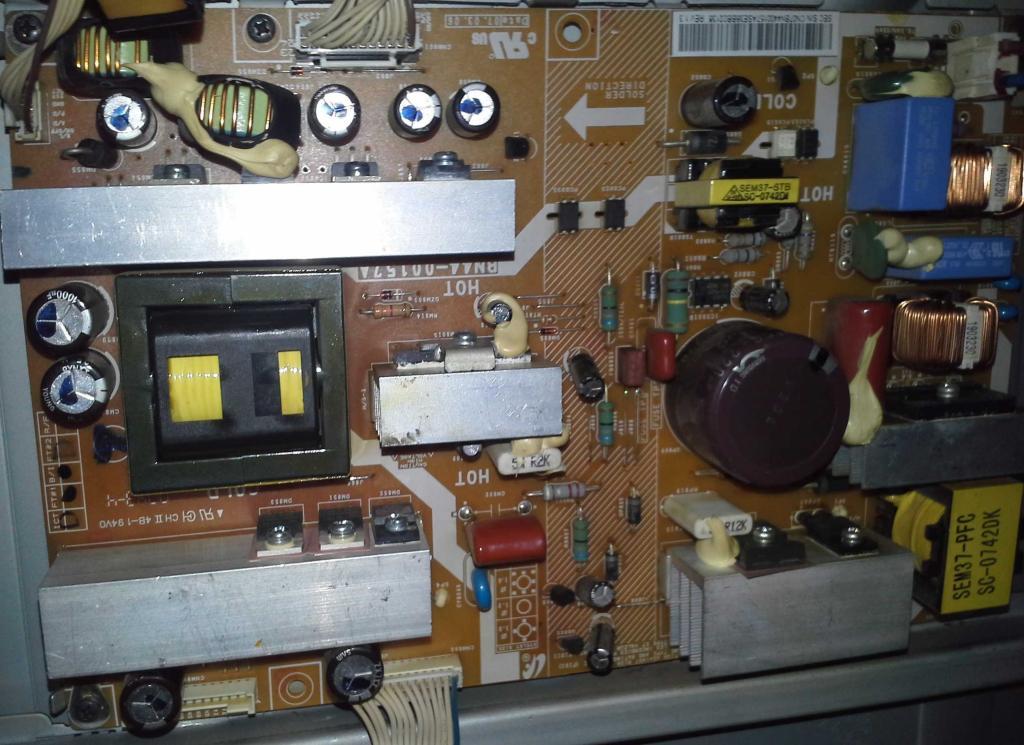 teleservice forum d pannage electronique ecran samsung le37r86bd. Black Bedroom Furniture Sets. Home Design Ideas