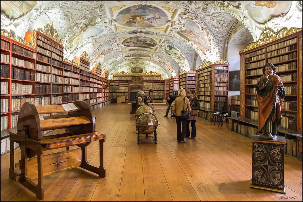 Prague - La bibliothèque de Strahov  Pb_496-419b6bc