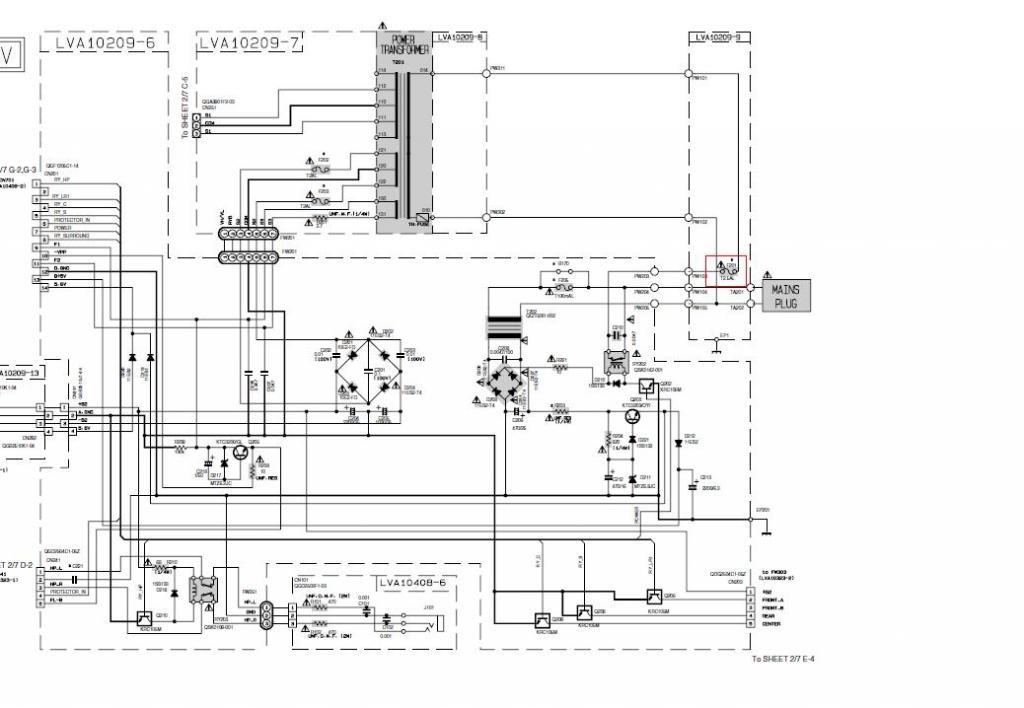 Teleservice forum d pannage electronique r solu jvc - Comment savoir si un fusible est grille ...