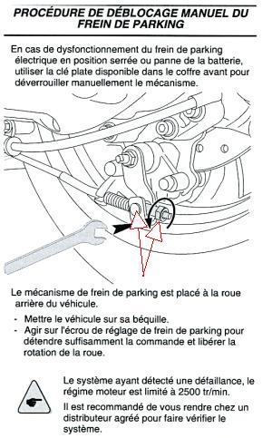 Boite a gant - non verrouillable Ecrou-frein-de-pa...--manuel-405cd73