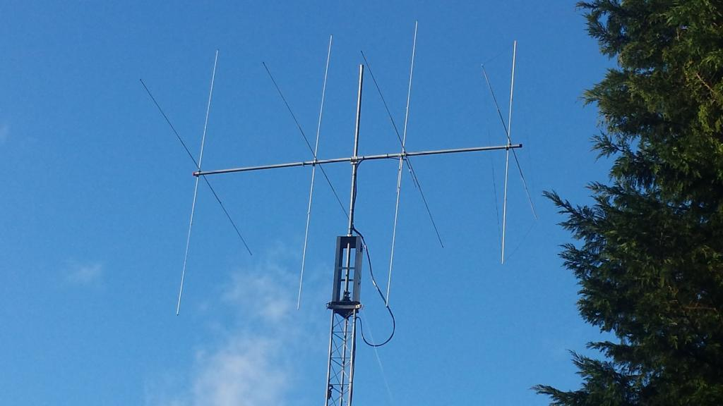 Technique radio dx partage preparation montage pylone for Antenne fait maison