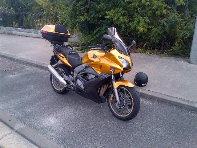Vente cbf 1000 travel edition 2013+ gps europe & 3 scala rider.