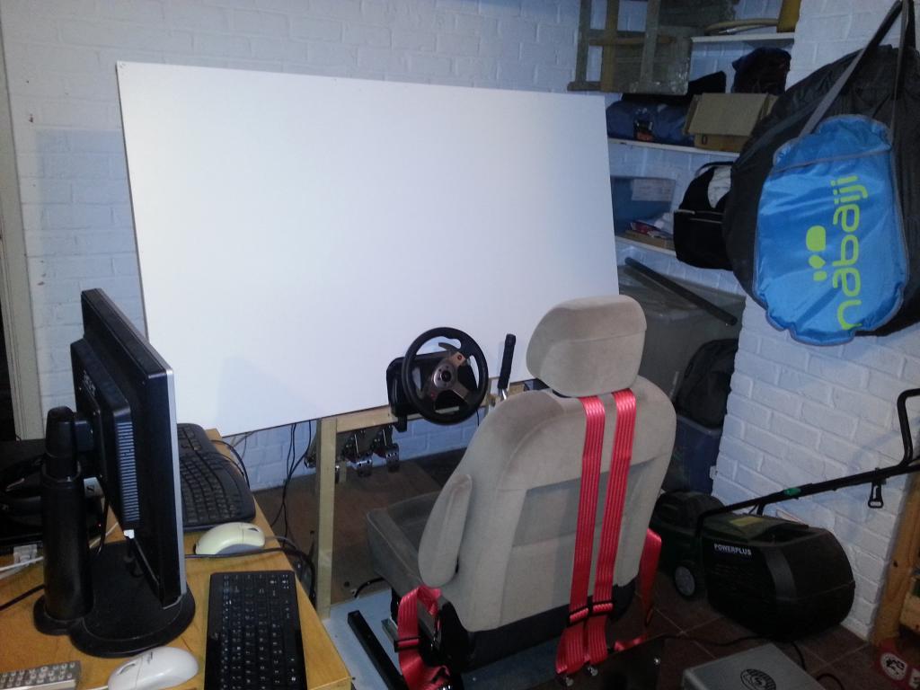PCSHM (Playseats, cockpits et simulateurs homemade