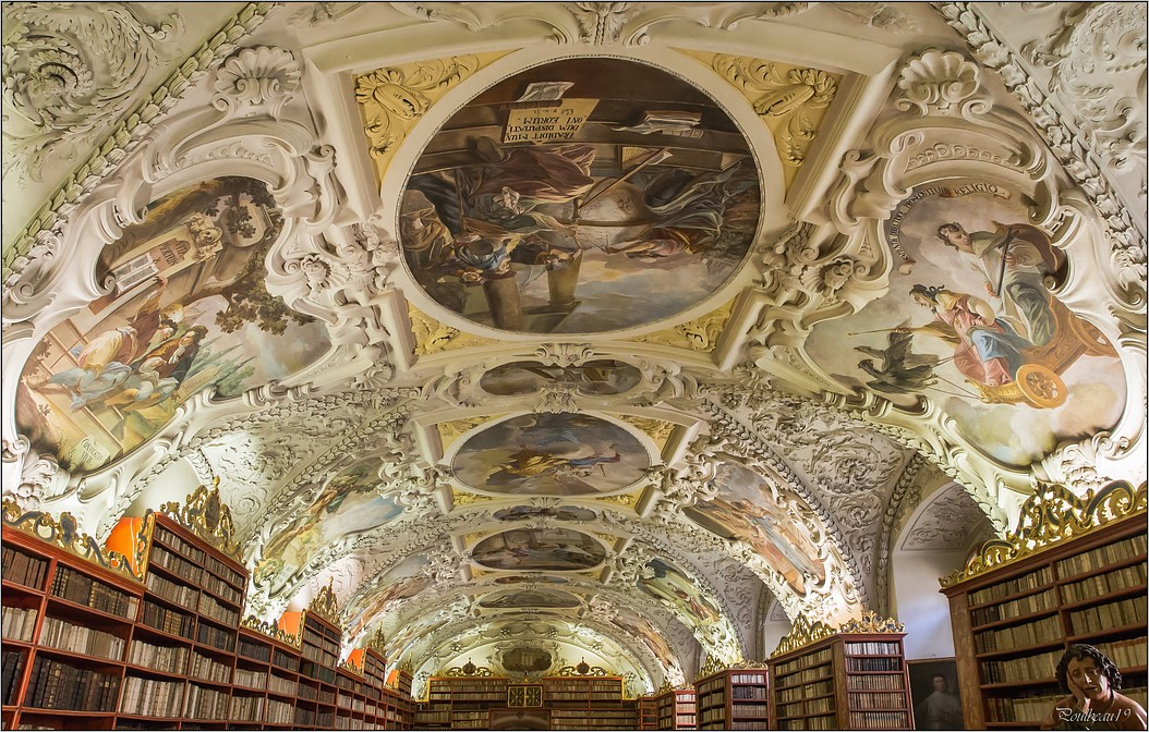 Prague - La bibliothèque de Strahov  Pb_495-419b696