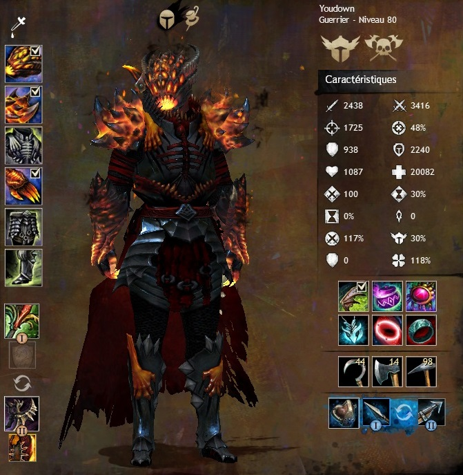 Build Guerrier Espadon Gw Pve