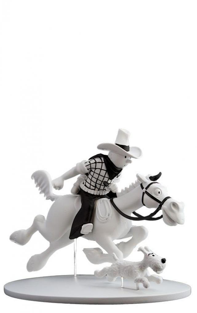 Tintin Milou Tintin Cow-boy et Milou en
