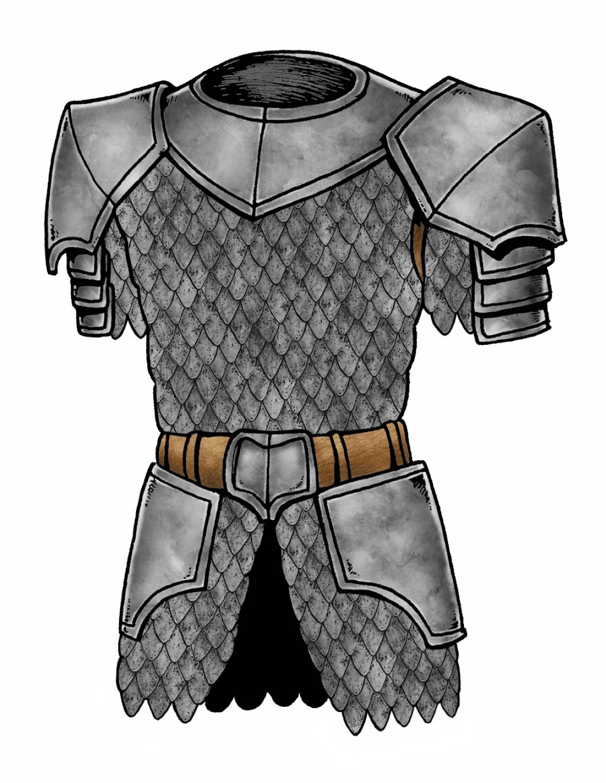 Heroquest remaster mega bo te a outils pour jeu sans joueur sorcier et grosse campagne - Dessin armure ...