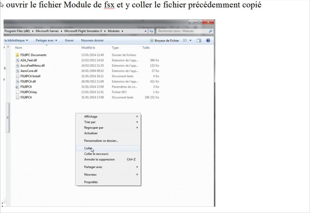 Vol Europe FSX :: Installation FSUIPC 4 858