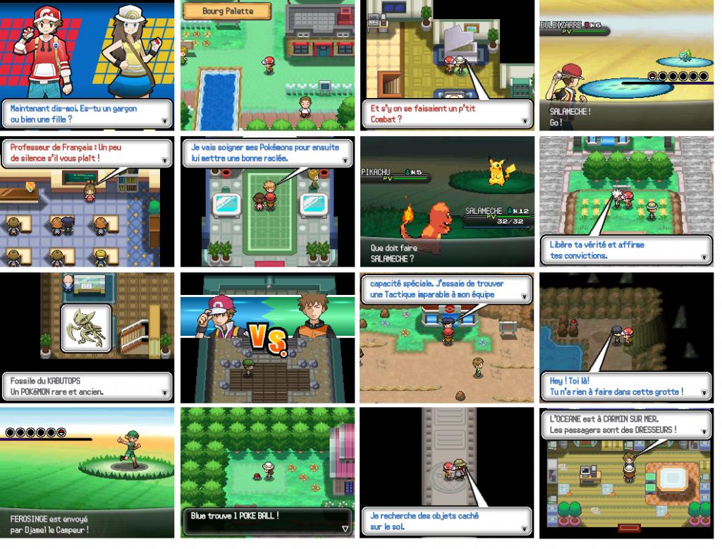 Pokémon rouge flamme: la tour de la forêt verte ép. 3 youtube.