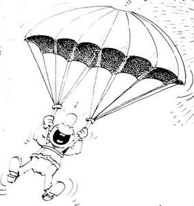 Dessins de parachute assurance insurance parachute - Dessin parachutiste ...