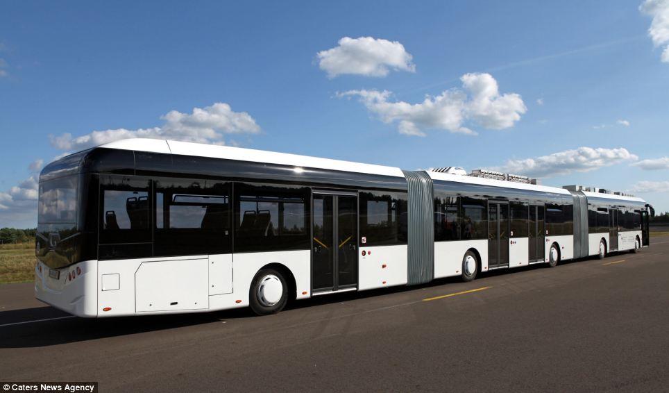 ce keolis agen bus le plus long du monde. Black Bedroom Furniture Sets. Home Design Ideas