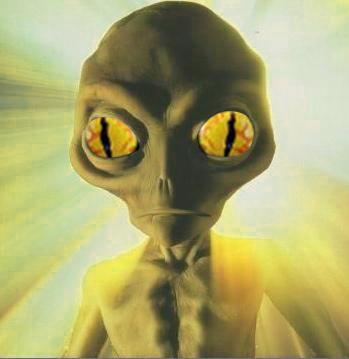 extraterrestre jaune