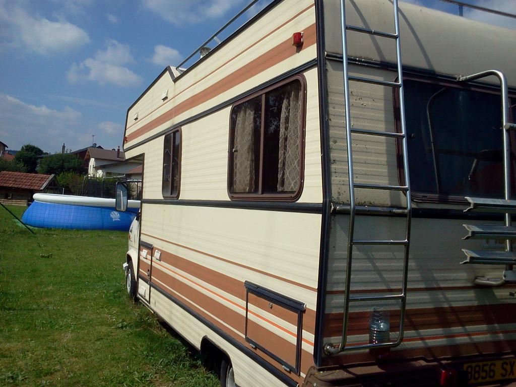 Très c25 j5 ducato et dérivés :: restauration du camping car pilote sur  GA95
