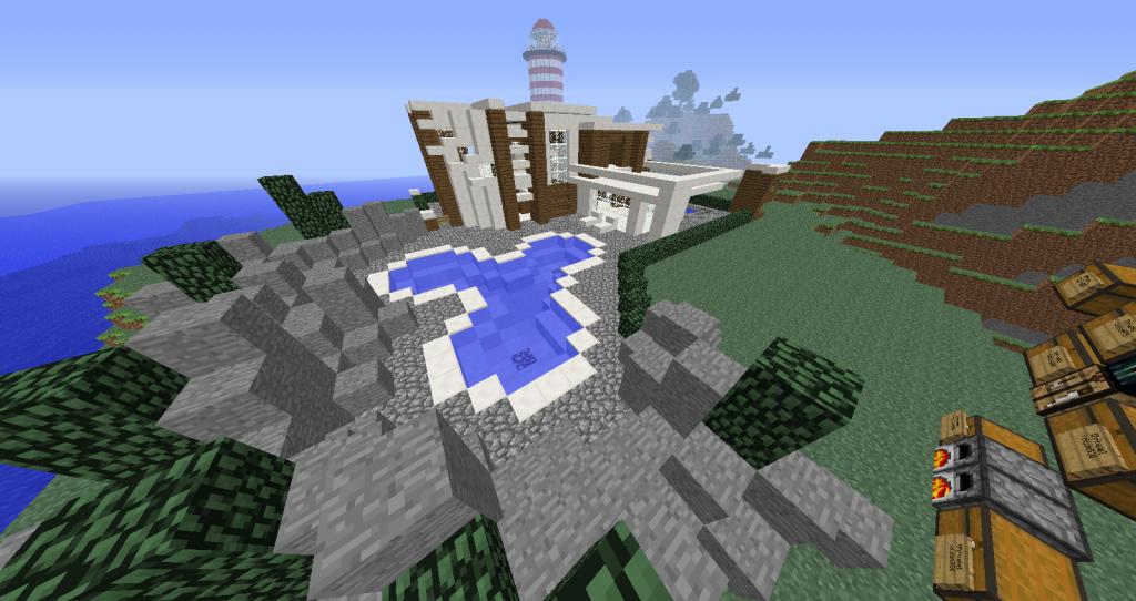 Forum du serveur minecraft opalecraft ma maison chez schawn - Voir ma maison en direct ...