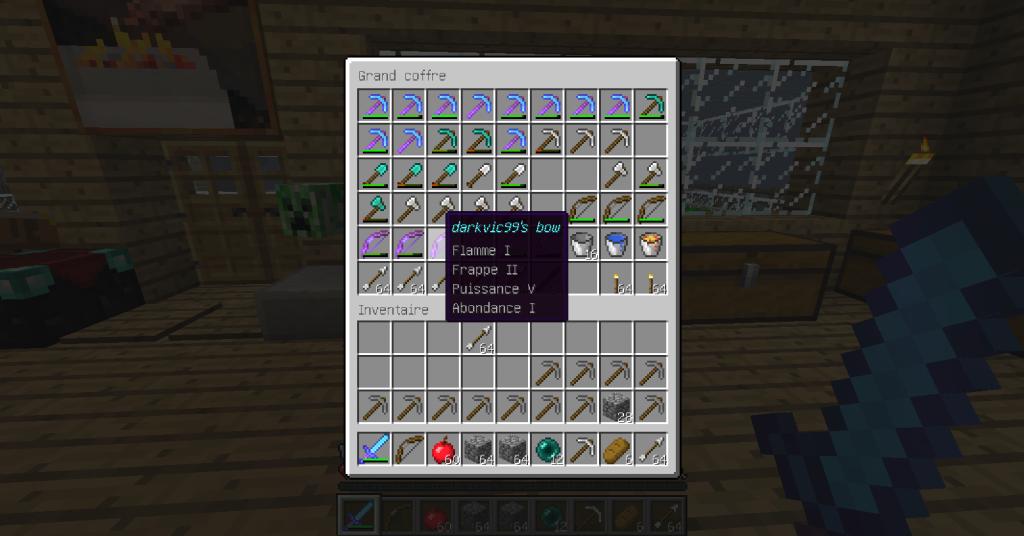 comment réparer minecraft