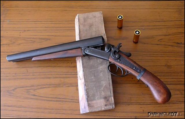 [DarkyGarage]  Projet Double Barrel Gun sur base coach gun denix P1010145-3ee3281