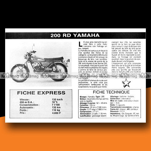 1975 yamaha rd 200 specifications and pictures 2017 2018 car release date