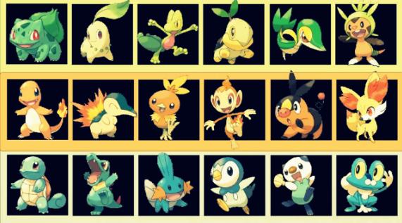 Quel type de pok mon de d part est fait pour vous - Image de pokemon ...