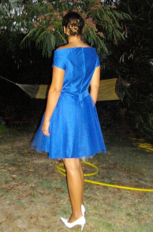 Les f es tisseuses robe bleue pour un mariage for Robe bleue pour mariage