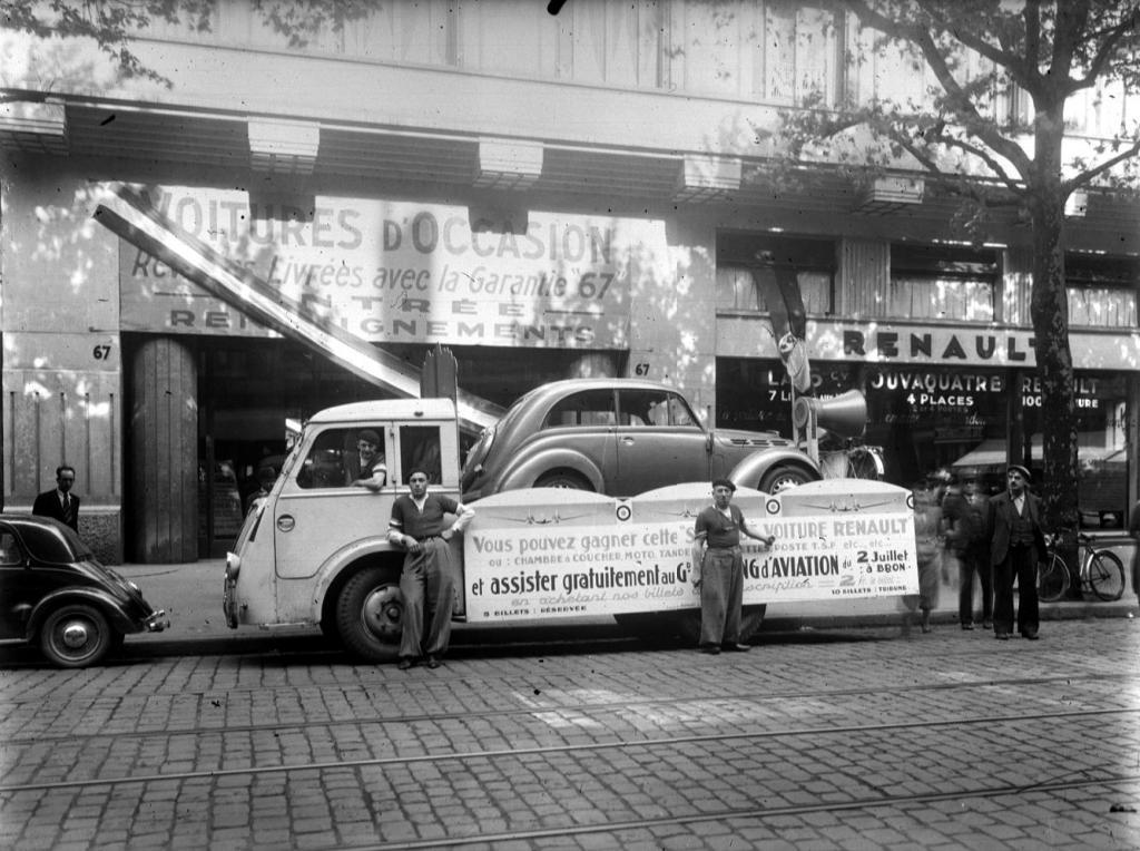 les renault d 39 avant guerre scoop du jour dans un garage